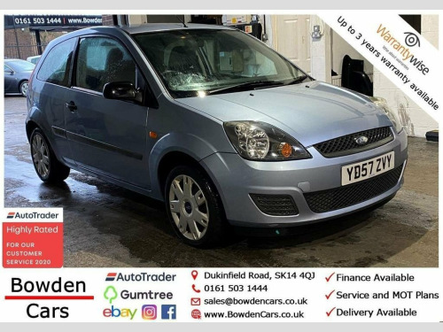 Ford Fiesta  1.2 STYLE CLIMATE 16V 3d 78 BHP