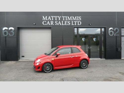 Abarth 500  1.4 ABARTH 3d 135 BHP 85.500 MILES,FSH,LEATHER,ALL