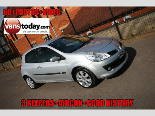 Renault Clio  1.1 DYNAMIQUE 16V TURBO 5d 100 BHP 3 KEEPERS + 12