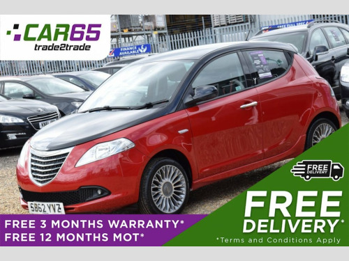 Chrysler Ypsilon  1.2 BLACK AND RED 5d 69 BHP + FREE DELIVERY + FREE