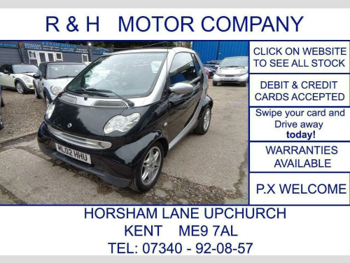 Smart CITY  PASSION SOFTOUCH (RHD) 2-Door