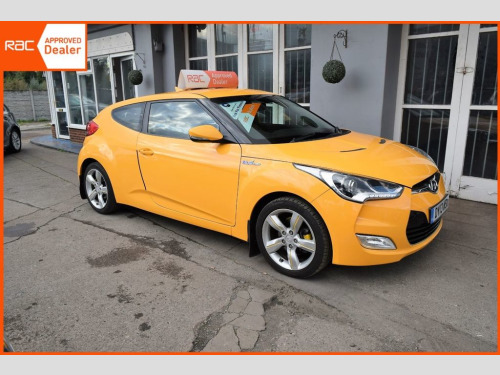 Hyundai Veloster  1.6 (137bhp) Blue Drive Coupe 4d 1591cc
