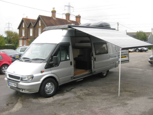 Ford Transit  2.4 350E 1d 140 BHP Space in rear for Storage and